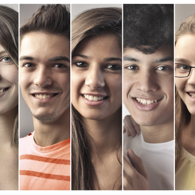 Image of many different students.